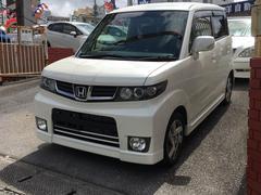 沖縄の中古車 ホンダ ゼストスパーク 車両価格 63万円 リ済込 平成22年 4.7万K パールホワイト