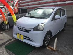 沖縄の中古車 ダイハツ ミライース 車両価格 53万円 リ済込 平成25年 5.4万K ライトブルー