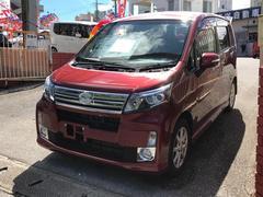 沖縄の中古車 ダイハツ ムーヴ 車両価格 79万円 リ済込 平成26年 2.7万K ワインレッドM