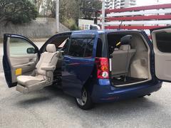 沖縄の中古車 トヨタ ラウム 車両価格 37万円 リ済込 平成18年 5.0万K ブルーM