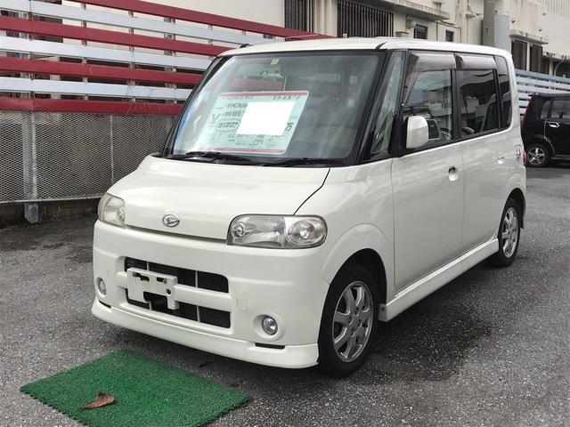 沖縄の中古車 ダイハツ タント 車両価格 19万円 リ済込 平成16年 12.4万km パール