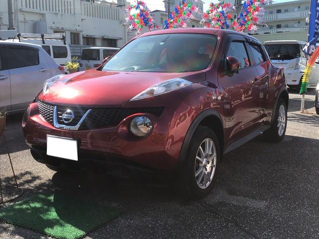 沖縄の中古車 日産 ジューク 車両価格 86万円 リ済込 2012(平成24)年 4.1万km ワインM