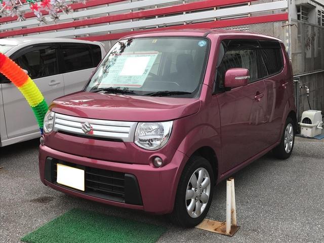 沖縄の中古車 スズキ MRワゴン 車両価格 66万円 リ済込 平成24年 4.7万km ピンクM