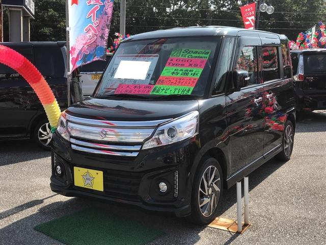 沖縄県の中古車ならスペーシアカスタム XS 両側パワースライドドア