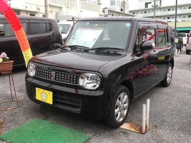沖縄の中古車 スズキ アルトラパン 車両価格 66万円 リ済込 2013(平成25)年 3.5万km Dブラウン