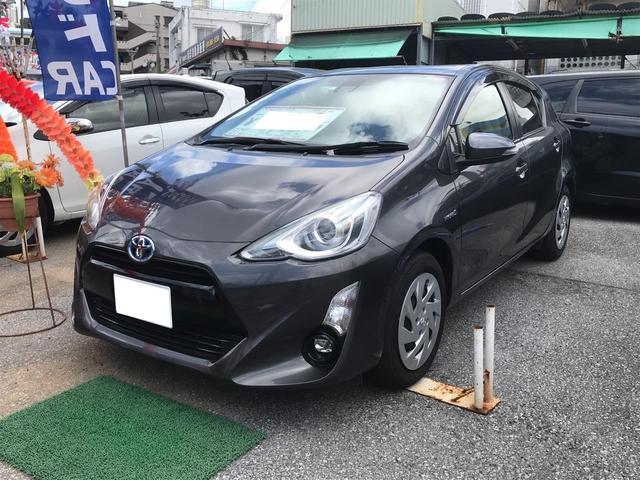 沖縄県の中古車ならアクア G ナビTV バックモニター オートブレーキサポート ETC
