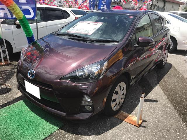 沖縄県の中古車ならアクア G スマートキー ナビTV バックモニター ETC