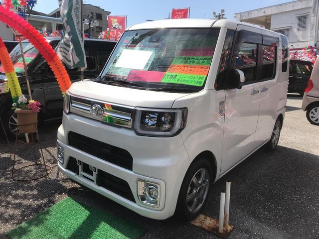 沖縄県の中古車ならピクシスメガ Gターボ SAII コーナーセンサー 両側パワースライドドア