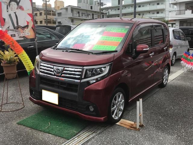 沖縄の中古車 ダイハツ ムーヴ 車両価格 96万円 リ済込 2016(平成28)年 3.4万km ワインM