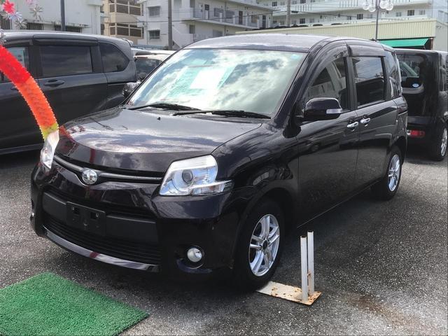 沖縄の中古車 トヨタ シエンタ 車両価格 86万円 リ済込 2014(平成26)年 3.9万km ダークパープル