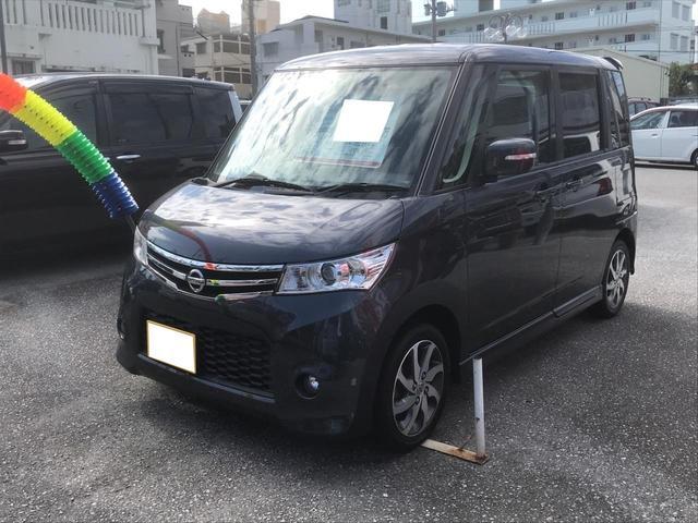 沖縄の中古車 日産 ルークス 車両価格 83万円 リ済込 2013(平成25)年 2.7万km グレーM