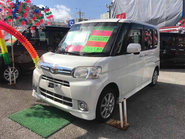 沖縄県の中古車ならタント Gスペシャル スマートキー DVD 左側パワースライドドア