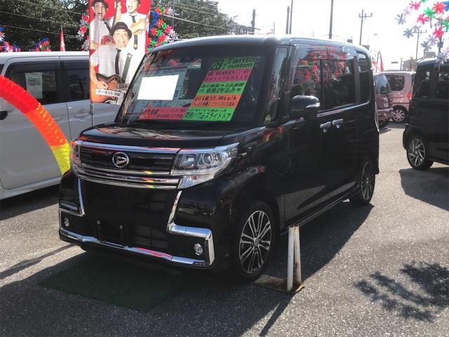 沖縄県の中古車ならタント カスタムRS トップエディションSAII 両側パワースライド