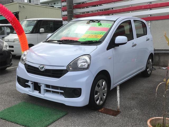沖縄県の中古車ならミライース L スマートセレクションSA CD アイドリングストップ
