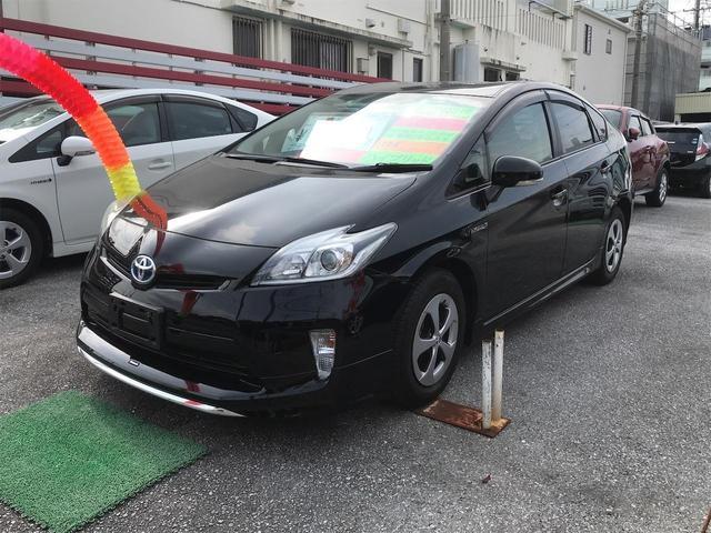 沖縄県の中古車ならプリウス S スマートキー ナビ バックモニター モデリスタエアロ