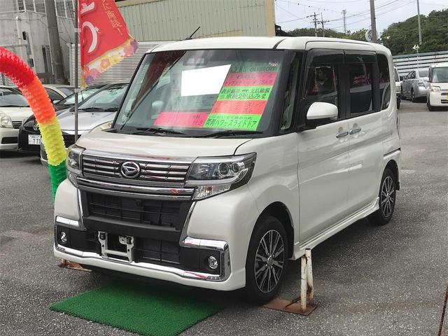 沖縄県の中古車ならタント カスタムX トップエディションVS SAIII 緊急ブレーキ