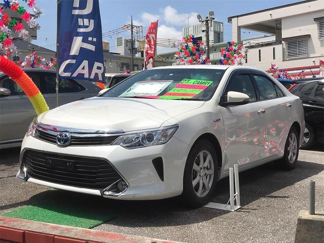 沖縄県の中古車ならカムリ ハイブリッド ナビTV 社外アルミ バックモニター