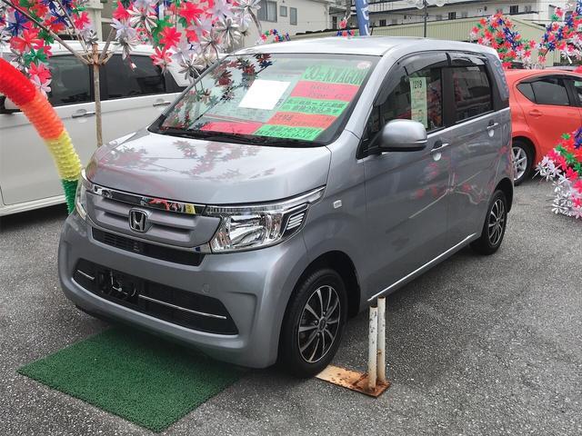 沖縄の中古車 ホンダ N-WGN 車両価格 83万円 リ済込 2018(平成30)年 2.0万km シルバー