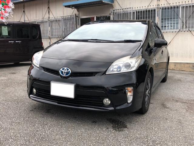 沖縄県の中古車ならプリウス S ナビTV バックモニター ETC 社外アルミ