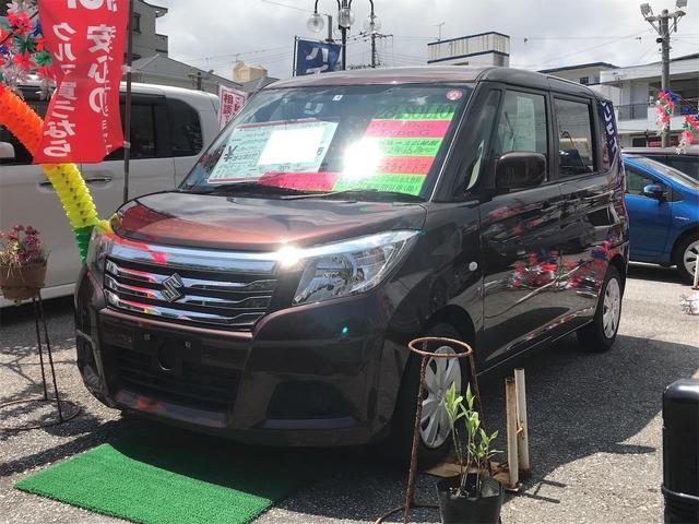 沖縄の中古車 スズキ ソリオ 車両価格 72万円 リ済込 2016(平成28)年 6.0万km ブラウン