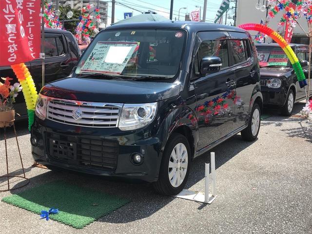 沖縄の中古車 スズキ MRワゴンWit 車両価格 66万円 リ済込 2013(平成25)年 7.2万km グリーングレーM