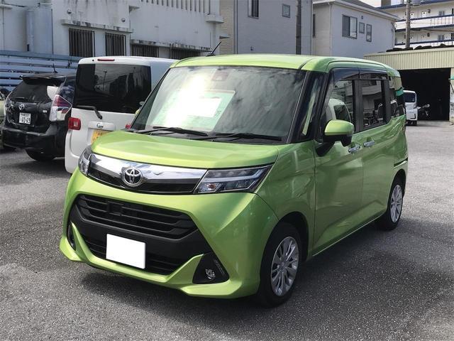 沖縄の中古車 トヨタ タンク 車両価格 109万円 リ済込 2018(平成30)年 4.8万km グリーンM