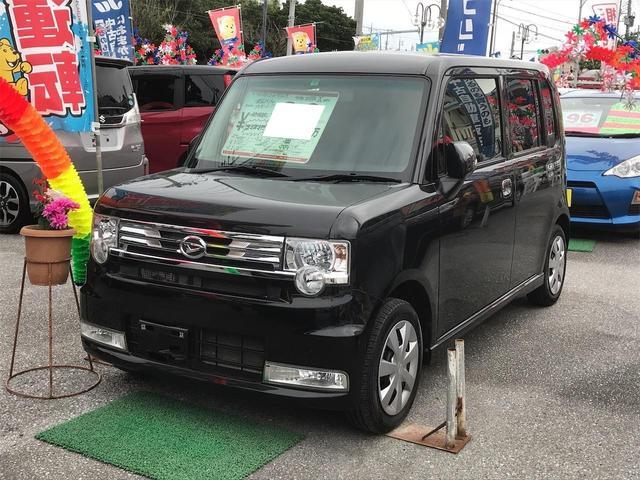 沖縄県の中古車ならムーヴコンテ カスタム X キーフリー ベンチシート 盗難防止装置 アイドリングストップ