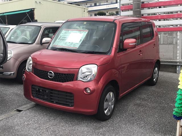 沖縄の中古車 日産 モコ 車両価格 53万円 リ済込 2012(平成24)年 6.7万km ワイン