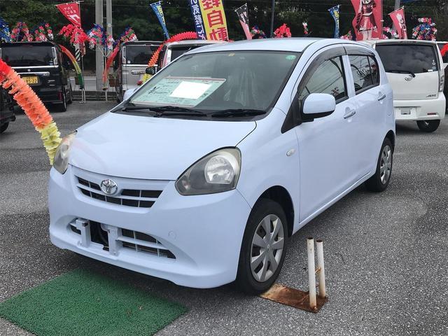 沖縄の中古車 トヨタ ピクシスエポック 車両価格 47万円 リ済込 2013(平成25)年 6.2万km ライトブルー