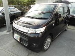 沖縄の中古車 スズキ ワゴンRスティングレー 車両価格 49万円 リ済込 平成22年 9.2万K ダークパープルM