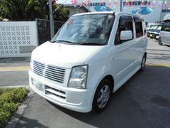 沖縄の中古車 スズキ ワゴンR 車両価格 19万円 リ済込 平成19年 10.1万K パールM