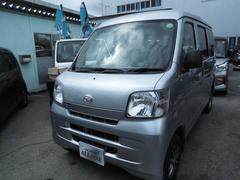 沖縄の中古車 ダイハツ ハイゼットカーゴ 車両価格 46万円 リ済込 平成24年 8.3万K ライトグレー