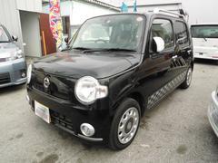 沖縄の中古車 ダイハツ ミラココア 車両価格 54万円 リ未 平成22年 9.5万K ブラックII