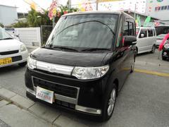 沖縄の中古車 ダイハツ タント 車両価格 53万円 リ済込 平成21年 6.1万K DブラックII