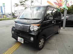 沖縄の中古車 ダイハツ アトレーワゴン 車両価格 59万円 リ済込 平成20年 6.9万K DブラックII