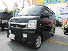 沖縄の中古車 スズキ エブリイワゴン 車両価格 54万円 リ済込 平成19年 8.5万K ブラックM
