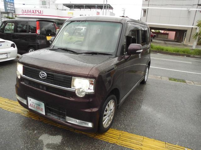 沖縄県の中古車ならムーヴコンテ カスタム X リミテッド本土車 2年保証 フルセグTVカメラ