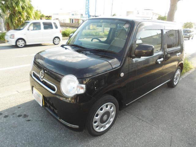 沖縄県の中古車ならミラココア ココアXエコアイドル 本土車 修復無 2年保証 スマートキー
