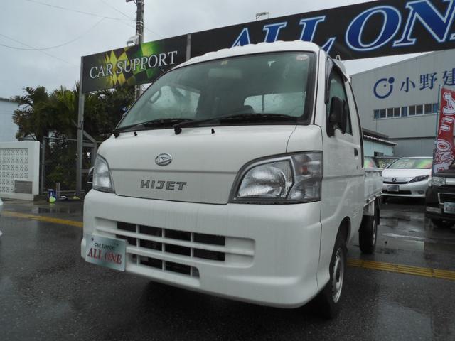 沖縄の中古車 ダイハツ ハイゼットトラック 車両価格 53万円 リ済込 平成25年 12.4万km ホワイト