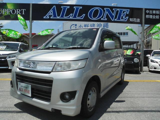 沖縄県の中古車ならワゴンRスティングレー X本土車 修復無 1年保証 プッシュスタート