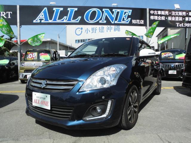 沖縄県の中古車ならスイフト スタイル-DJE 本土車 ツートンカラー 2年保証 フルセグ