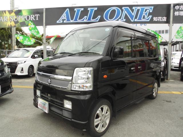 沖縄県の中古車ならエブリイワゴン PZターボスペシャル 1年保証 フルセグTV 両側パワスラ