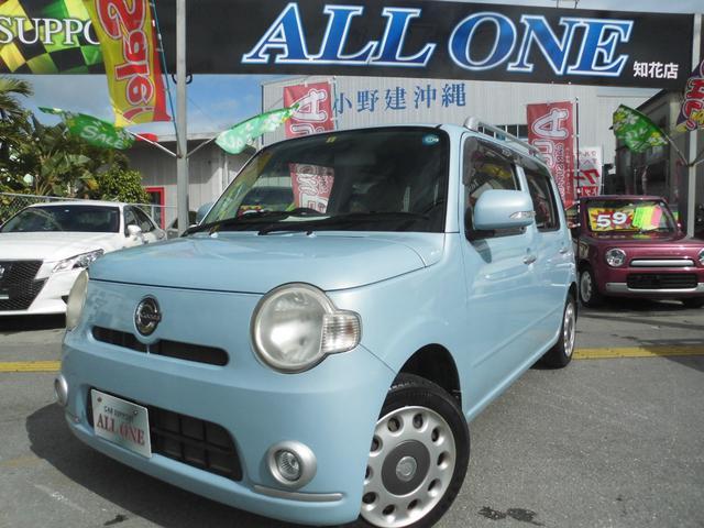 沖縄県の中古車ならミラココア ココアプラスX本土車 修復無 スマートキーBluetooth