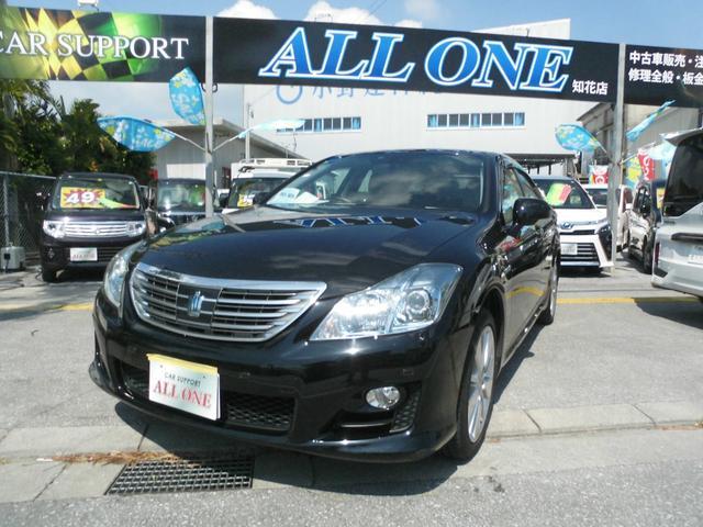 沖縄県沖縄市の中古車ならクラウンハイブリッド スタンダードパッケージ 本土車・修復無