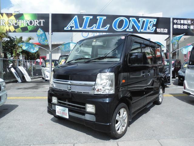 沖縄の中古車 スズキ エブリイワゴン 車両価格 46万円 リ済込 2010(平成22)年 11.1万km ブラック
