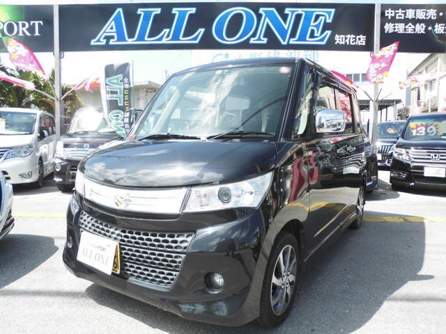 沖縄の中古車 スズキ パレットSW 車両価格 43万円 リ済込 2012(平成24)年 10.9万km ブラックM