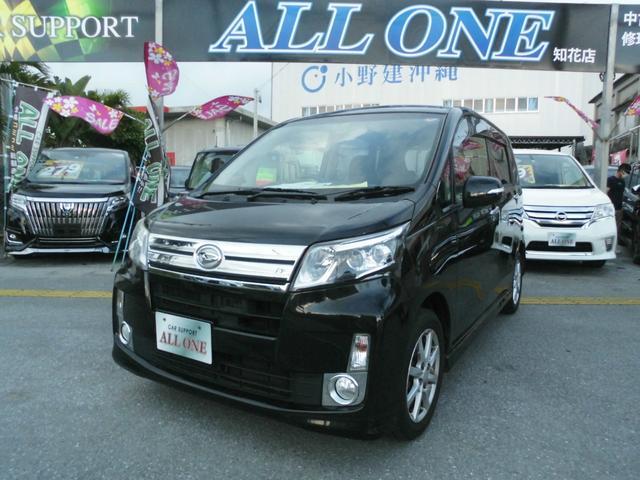 沖縄の中古車 ダイハツ ムーヴ 車両価格 44万円 リ済込 2013(平成25)年 10.2万km ブラックM
