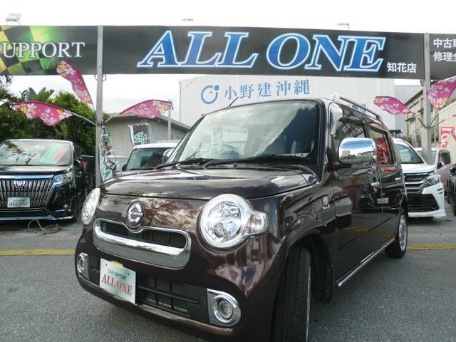 沖縄の中古車 ダイハツ ミラココア 車両価格 49万円 リ済込 2014(平成26)後 9.5万km ブラウンM