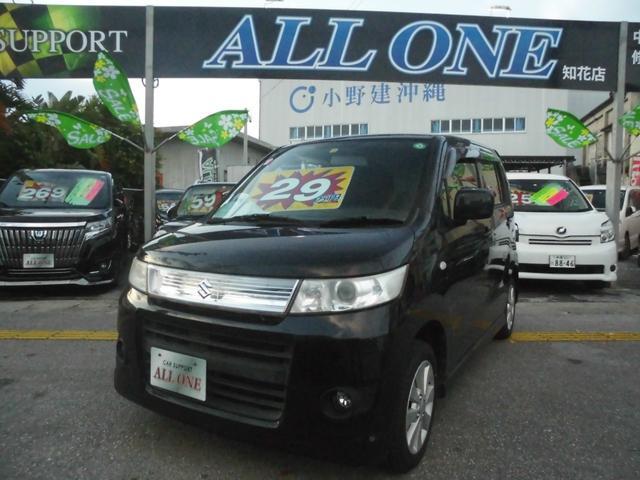 沖縄の中古車 スズキ ワゴンRスティングレー 車両価格 19万円 リ済込 2011(平成23)年 10.1万km ブラック