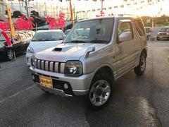 沖縄の中古車 スズキ ジムニー 車両価格 60万円 リ済込 平成14年 10.9万K シルバーM